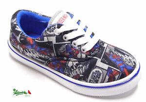 shopping abbigliamento sportivo ad alte prestazioni scarpe da corsa OFFERTA SPIDERMAN scarpe bambino tessuto lacci gomma personaggi ...