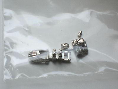 "AL1020 1/"" /& 2/"" 20Ga Brass HEAD PINS-NICKEL Plated-245"