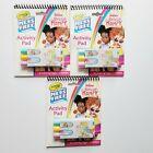 Lot of 3 Crayola Color Wonder Fancy Nancy Markers Activity Pads