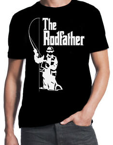 54b961c1f6 Image is loading The-Rodfather-Funny-Fishing-Sport-Angling-Father-Dad-