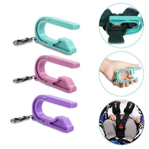 The Car Seat Key Child Safety Belt Keychain Unlocker Auto Accessories Tool