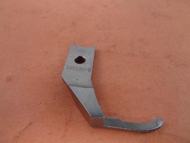 Outside Pfaff  146,195,545,1240 Single Right Toe Zipper Walking Foot  49558C-D