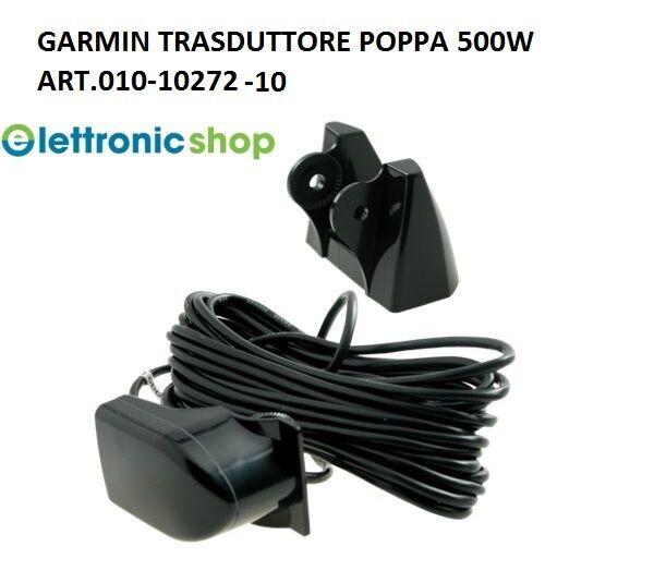 GARMIN TRASDUTTORE POPPA PLASTICA 50/200 KHZ PROF./TEMP. ART.010-10272-10 500 W ART.010-10272-10 PROF./TEMP. ca581d