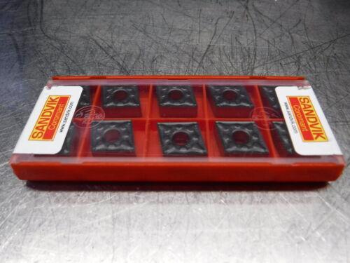 LOC2918A Sandvik Carbide inserts QTY10 CNMG 12 04 04-PM//CNMG 431-PM 4315