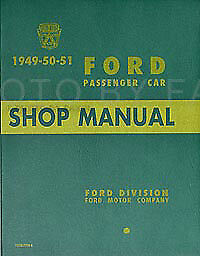 1949 1950 1951 FORD MERCURY LINCOLN IGNITION MASTER REPAIR MANUAL FORD OF CANADA