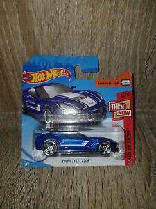 Mattel-Hot-Wheels-FKB16-antes-y-ahora-8-10-Corvette-C7-Z06-Tarjeta-Corta-339-365