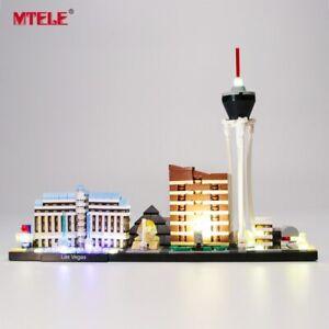 LED-Light-Up-Kit-For-LEGO-Architecture-Las-Vegas-Lighting-Las-Vegas-Set-21047