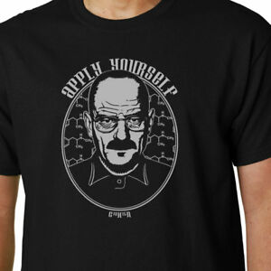 Apply Yourself T Shirt Breaking Bad Walter White Walt Funny Quote