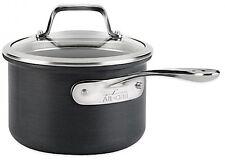 All-Clad B1 Hard Anodized Nonstick 2-Quart Saucepan w Lid Pot Multi-Cooker