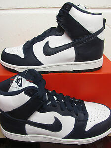 Image is loading Nike-Dunk-Retro-QS-mens-Hi-Top-Trainers-