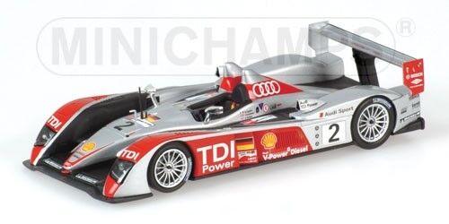 Audi r10 24h le hommes  2007 mcnish capello minichamps 1 43 model  nous prenons les clients comme notre dieu