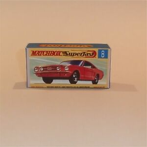 Matchbox Superfast Poster repro  Type G  8-75 Series