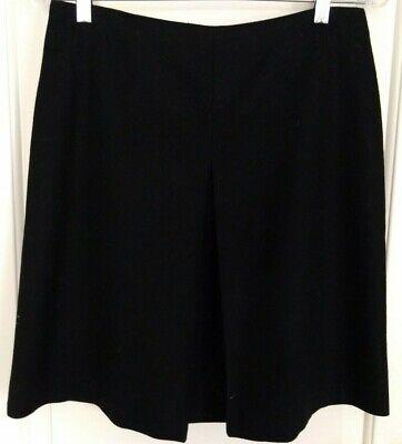 Career Work Office,size 9/10,100% Wool Black Windsor Junior/ Women's Skirt