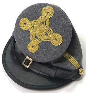 Civil War Berdans Green sharpshooter Generals 4 rows of Gold Braids kepi