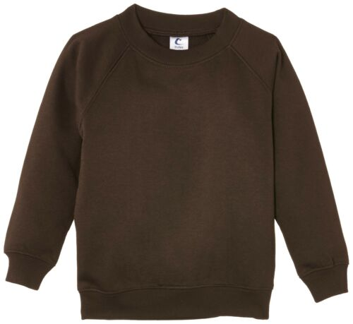 Trutex Limited Unisex 260G Crew Neck Sweatshirt Brown