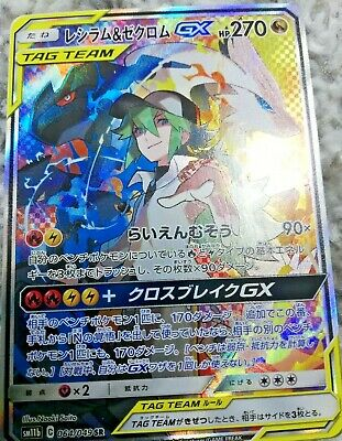N/'s Resolve SR 066//049 SM11b Dream League Japanese Pokemon Card PCG