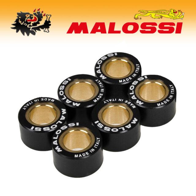 6611156.I0 [Malossi] Set 6 Rodillos Cambiador Htroll 20x12 GR.13