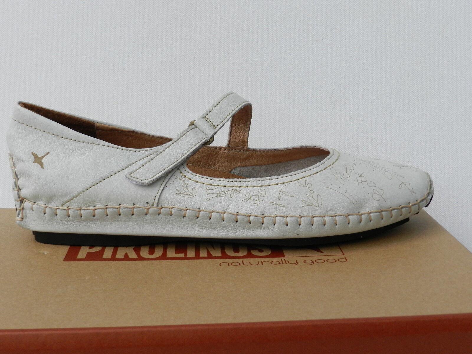 Pikolinos Jerez shoes Femme 39 Ballerines 578 Sandales Mary Jane UK6 Neuf