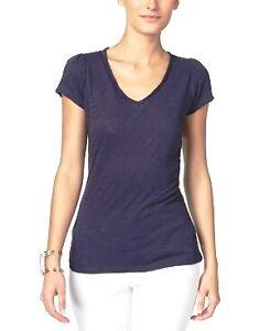 INC-International-Concepts-V-Neck-T-Shirt-Deep-Twilight-Size-S