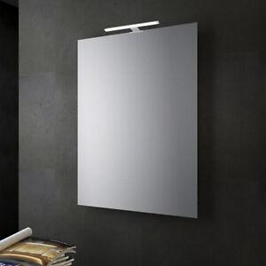 Specchio bagno o soggiorno reversibile con lampada led 30 cm da ...