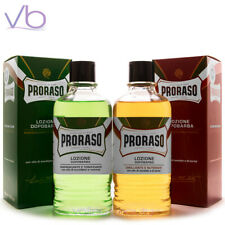 PRORASO (Green, Red, After Shave, Sandalwood, Eucalyptus, Lotion, Barber, 400ml)