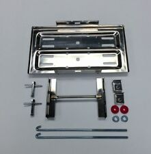 Polished Stainless Steel Hot Rod Battery Tray Kit