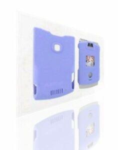 Snap-On-Case-for-Motorola-RAZR-V3-V3c-Purple-With-Belt-clip