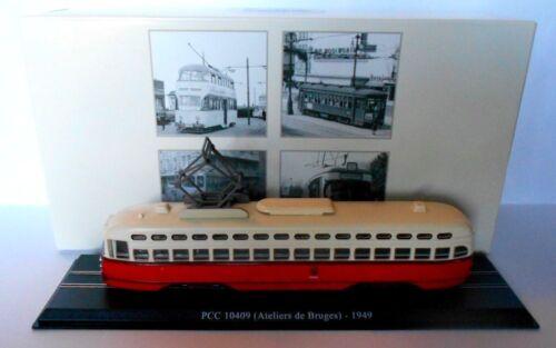 Atlas Editions PCC 10409 Tram 7519030 ATELIER DE BRUGES 020 1949 Scala 1:87