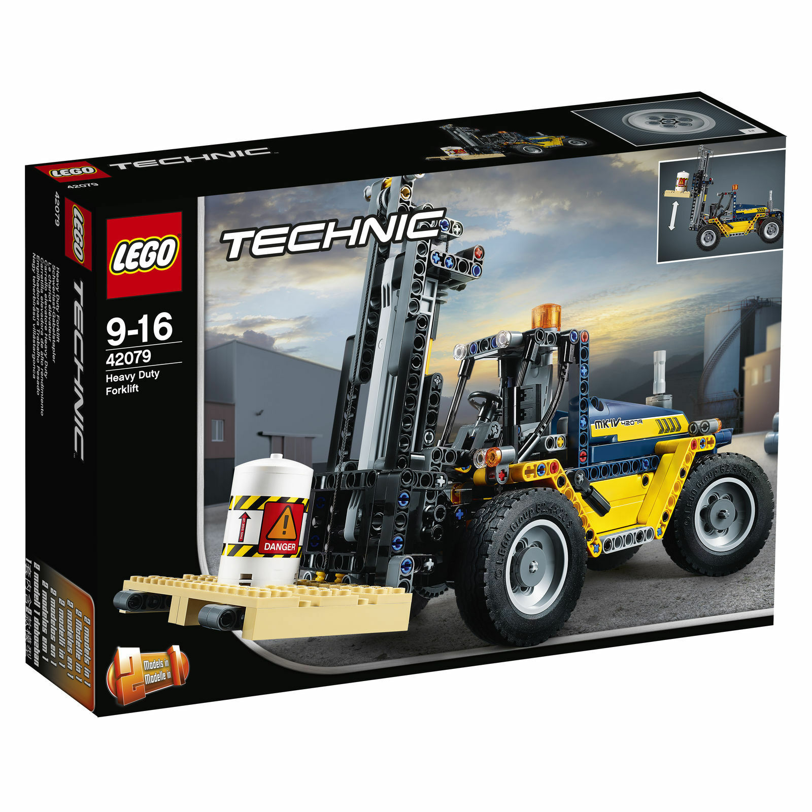 LEGO Technic Schwerlast-Gabelstapler (42079) OVP NEU