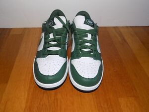 01cfbe052296 Nike iD NFL New York Jets Dunk Low Top Shoes Size 7.5 Green and ...