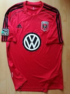 DC-United-Player-Issue-Football-Jersey-Shirt-Formotion-Large-L