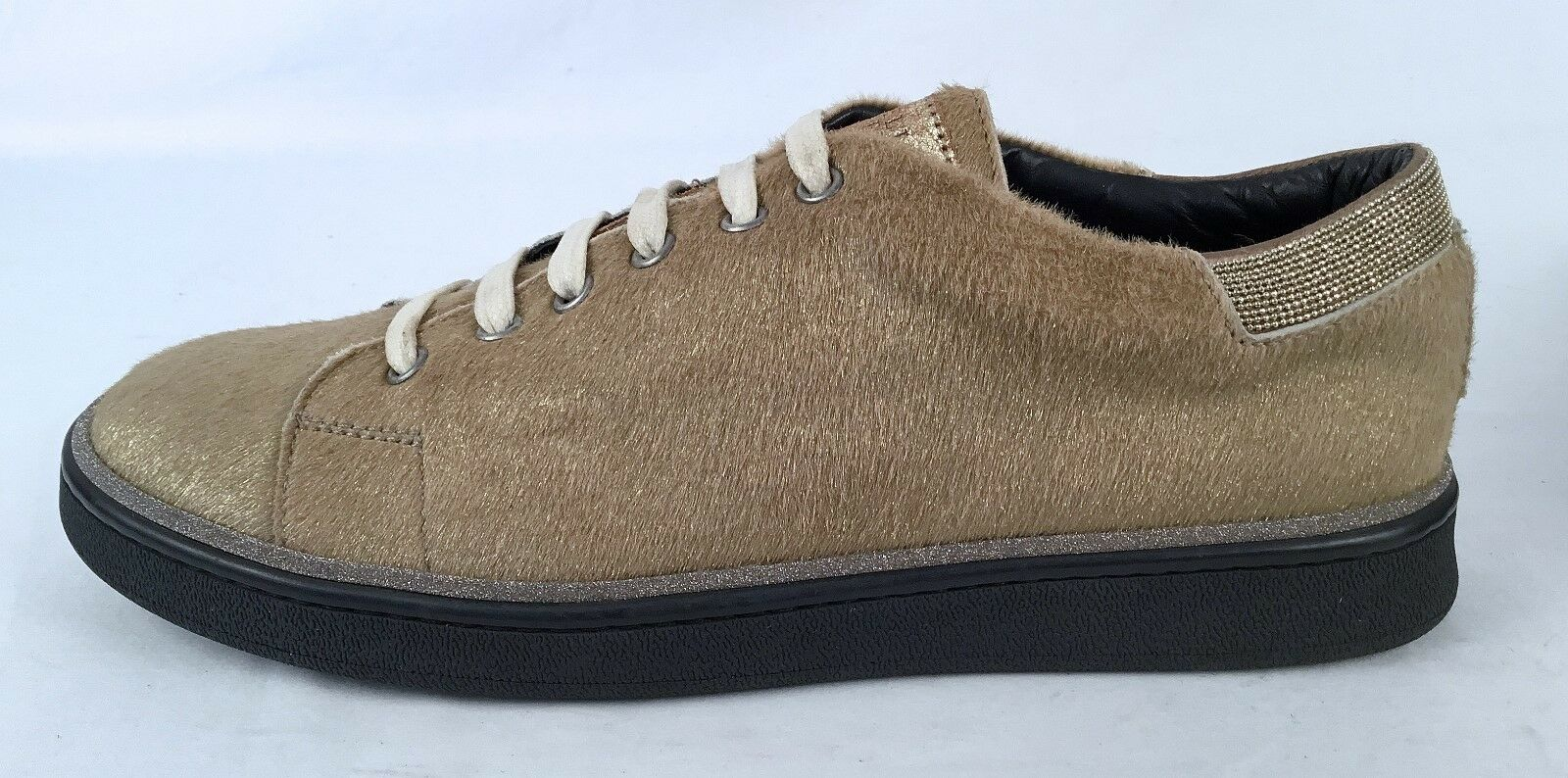 NEW   Brunello Cucinelli Calf Hair baskets -Taille -Taille -Taille US 11  EU 41-  1395  (P70) 5a6ae1