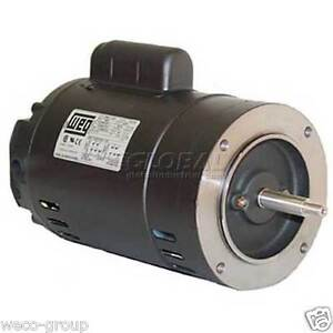 00136os1bjp56j 1 Hp 3600 Rpm New Weg Electric Motor Ebay
