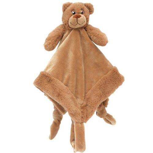 My Teddy Kuscheltuch Schmusetuch Schnullerhalter Bär 35 cm