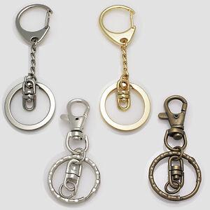 Lots 23mm Metal Keychain Keyring Key Holder Keyfob Classy Goods