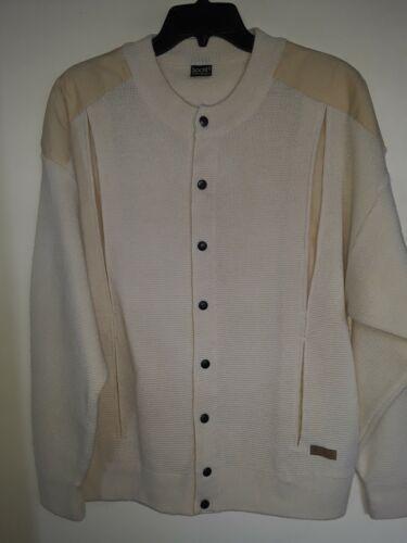 Vintage 70s L Jokey Ivory Cardigan Sweater  Sz L