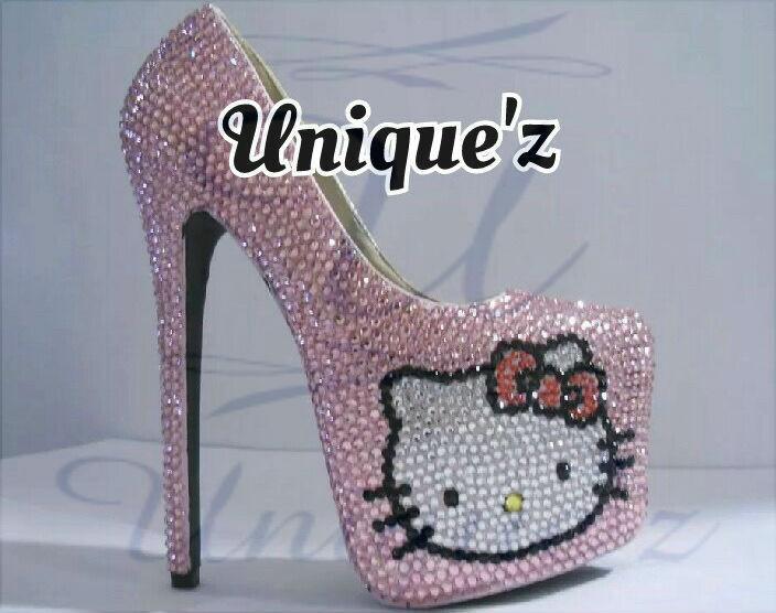 Sconto del 70% rosa Hello Kitty Daffodile Daffodile Daffodile Heels  qualità autentica