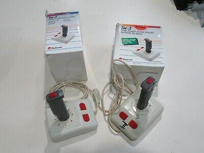 Suncom Tac-3 Joystick Controller For Commodore 64 Atari 2600 400 800 1200