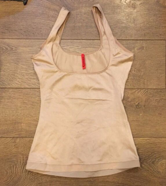 1c493f9ccc SPANX L Large Slimplicity Open Bust Camisole Nude   309 Fast Ship ...