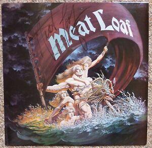MEAT LOAF Dead Ringer PROMO LP ALBUM Signed Autographed MINT 1981