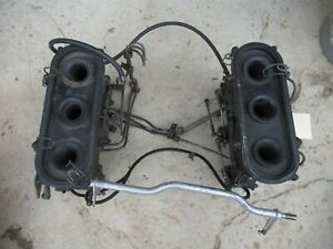 Porsche 911 Throttle Bodies W/ Intake Pipes And Fuel Lines 9111103161R