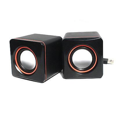 Portable USB Laptop Computer Ipod Speakers Multimedia Desktop PC Ultrabook