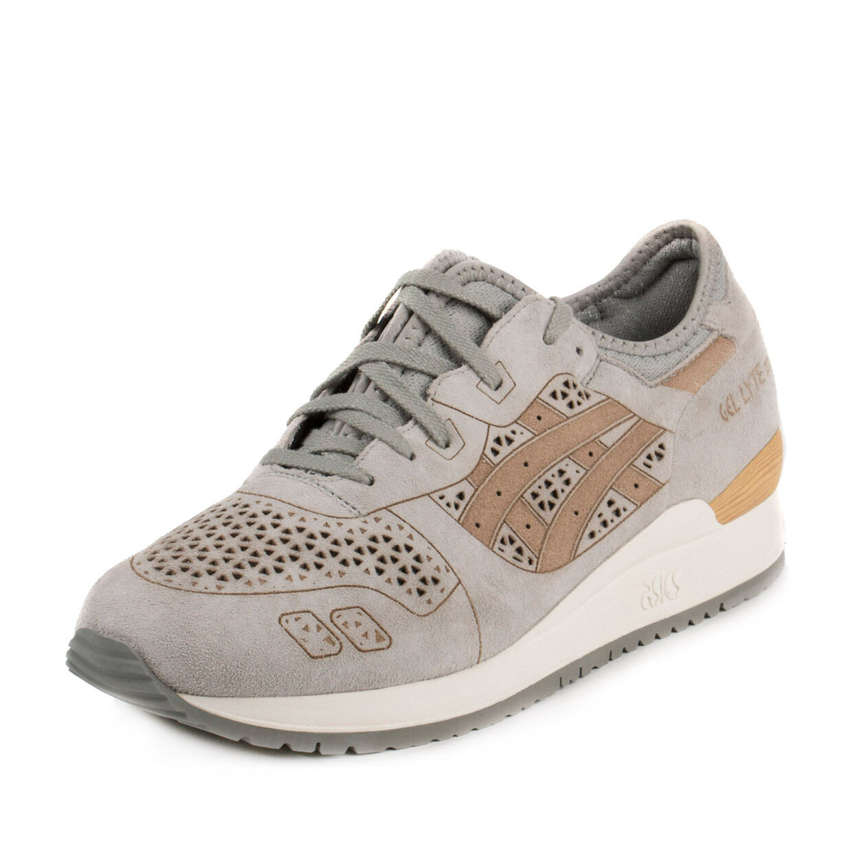 NEW   ASICS TIGER GEL-LYTE III LC H5E3L UNISEX Chaussures LIGHT Gris FAST SHIPPING