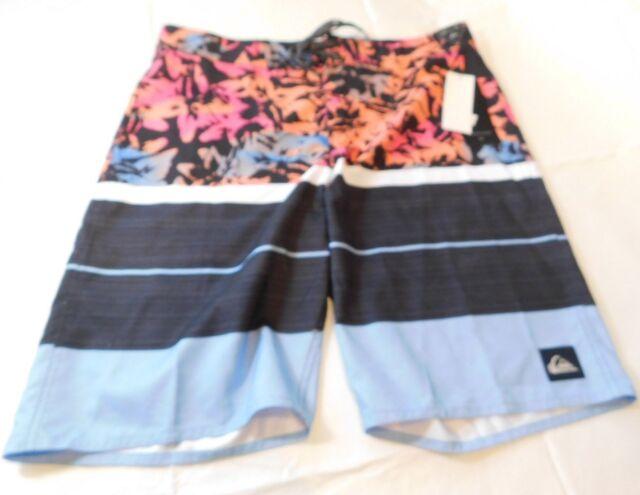 5da1184bc1 Mens Quiksilver Boardshorts Board Shorts Swim Short 31 Slab Island 21 Bjq6