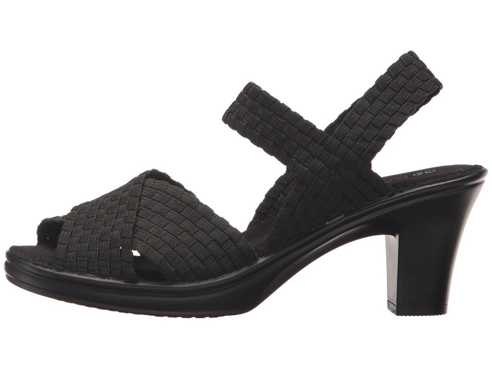 Bernie Mev Depurple Black Women's Sandal