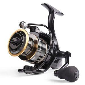 US! Fishing Reel HE1000-7000 Max Drag 10kg High Speed Metal Spool Spinning Reel