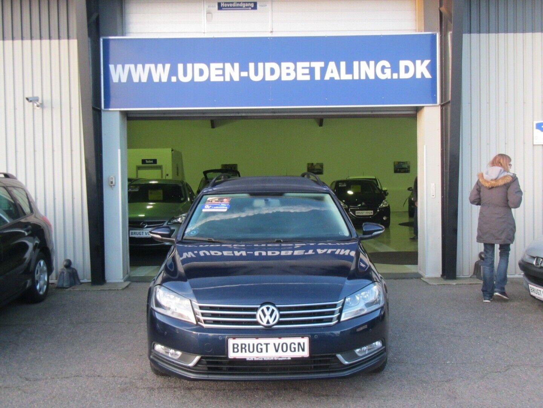 VW Passat 2,0 TDi 140 Trendl. Vari. BMT 5d