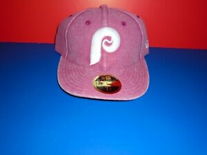 new concept c8a74 85e3e Image is loading Philadelphia-Phillies-New-Era-Cooperstown -Collection-Fitted-Low-