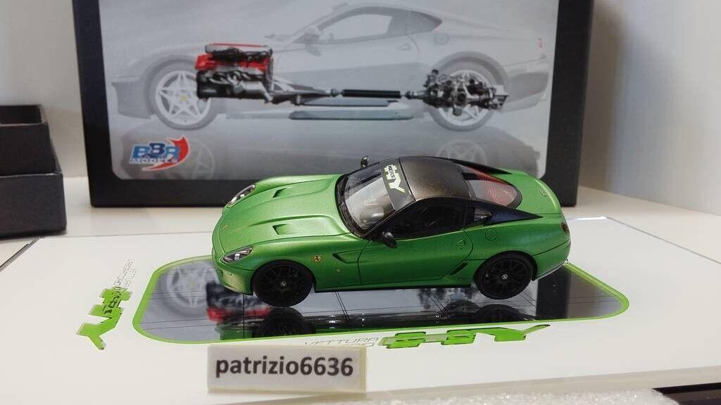 BBR Models 1 43 Ferrari 599 GTB Hybrid Concept kers 2010 Matt Green Article ex31