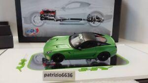 Modèles Bbr 1/43 Ferrari hybride 599 Gtb Concept Kers 2010 Matt Green Art. Ex31